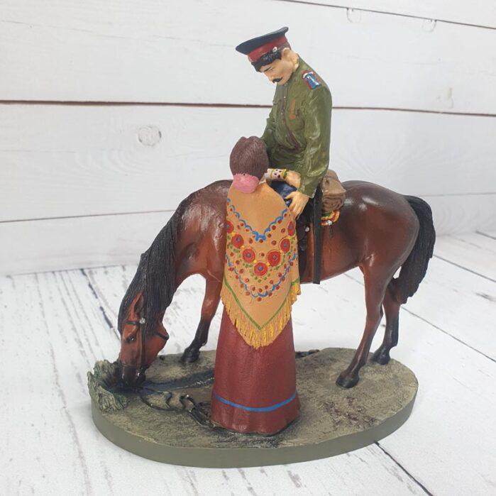 Статуэтка Проводы казака (зеленый) 55477