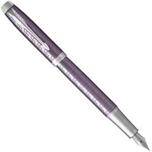 Перьевая ручка Parker IM Premium - Dark Violet CT 1931636