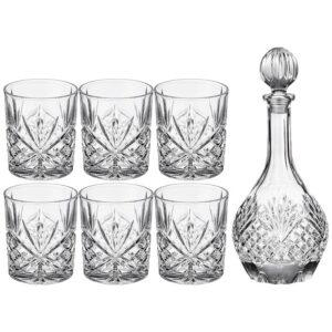 "Набор для виски ""Muza"" 7пр.: штоф + 6 стаканов 950/300 мл 57317"