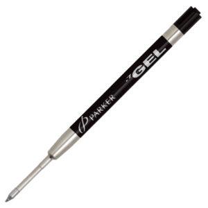 Стержень для шариковой ручки (гелевый) Parker, M, черный 1950344