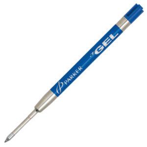 Стержень для шариковой ручки (гелевый) Parker, M, синий 1950346
