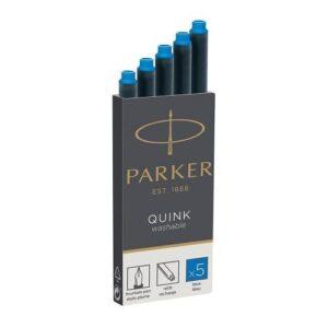Чернила (картридж) Parker, синий, 5 шт в упаковке 1950383