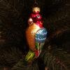 Игрушка на ёлку Попугай (стекло) 54105