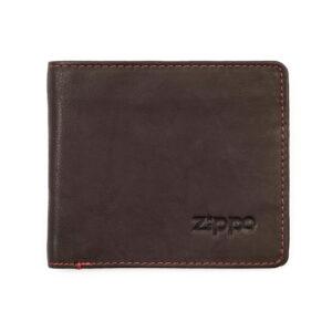 """Портмоне Zippo 2005116, цвет """"мокко"""", натуральная кожа"""