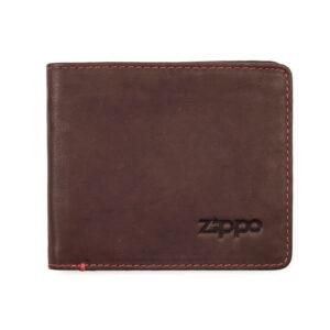 Портмоне Zippo 2005117, коричневое, натуральная кожа