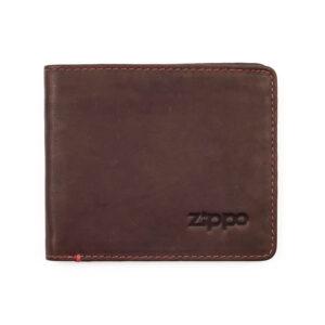 Портмоне Zippo 2005119, коричневое, натуральная кожа,