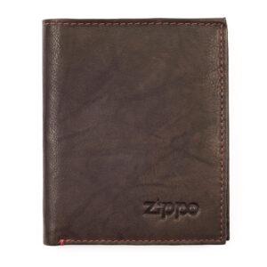 """Портмоне Zippo 2005121, цвет """"мокко"""", натуральная кожа"""
