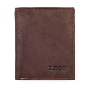 Портмоне Zippo 2005122, коричневое, натуральная кожа
