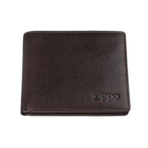 Портмоне Zippo 2006031, коричневый, натуральная кожа