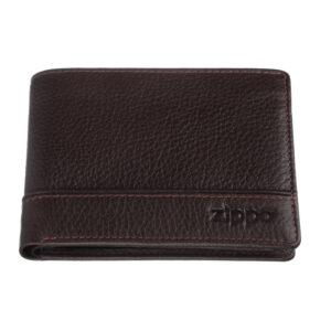 Портмоне Zippo 2006053, коричневое, натуральная кожа