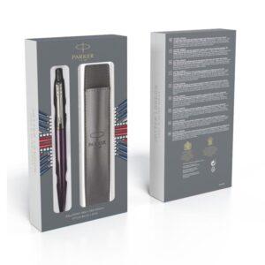 Набор подарочный Parker Шариковая ручка  Jotter Core - Victoria Violet CT + чехол 2061286