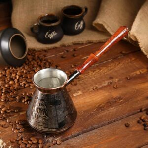 Турка для кофе медная «Алые Паруса», 0,5 л 53049