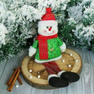 "Мягкая игрушка ""Снеговик"" искорка 44312"