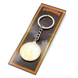 Брелок Кубань Казак с конем (монета) 20726