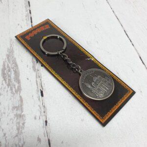 Брелок Краснодар Екатерина 2, собор А. Невского (монета) серебро 46945