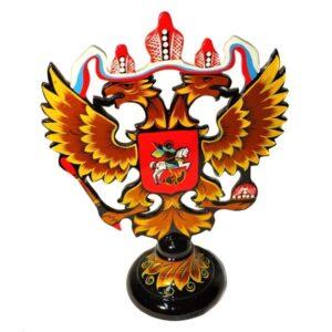 Герб РФ (Хохлома) 50127