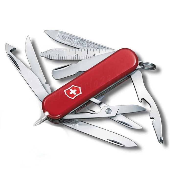 Нож-брелок Victorinox Midnight MiniChamp, 58 мм, 17 функций 0.6386