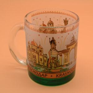 Кружка с цветным дном Краснодар 49502