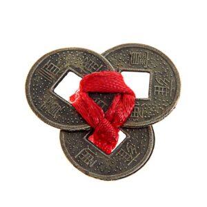 3 монеты связаны бронза 36887