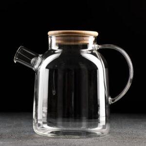 Чайник заварочный «Эко», с металлическим ситом, 1,7 л 55564