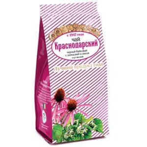 Чай черный с эхинацеей и липой 100 г. Краснодарский 46689