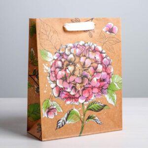 Пакет «Ты прекрасна!», ML 23 × 27 × 8 см 55094