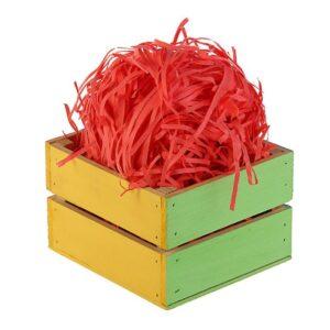 Наполнитель бумажный красный-коралловый, 50 г 46387