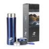 Термокружка Stinger, 0,42 л, сталь/пластик, синий матовый, с ситечком 52903 83913