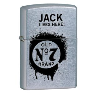 Зажигалка Zippo (зиппо) №24536 Jack Daniel's Lives Here