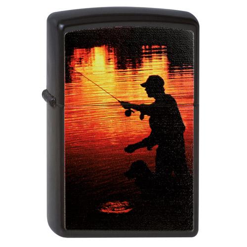Зажигалка Zippo (зиппо) №218 FISHERMAN Рыбак