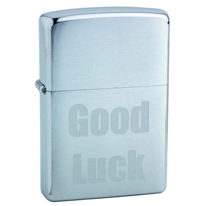 Зажигалка Zippo (зиппо) №200 Good Luck