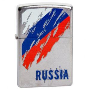 Зажигалка Zippo (зиппо) №207 Russia Flag