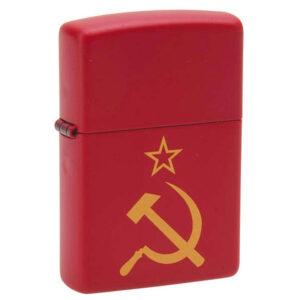 Зажигалка Zippo (зиппо) №233 Серп и молот