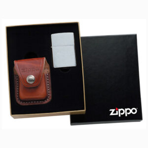 Подарочный набор с чехлом LPGS Zippo