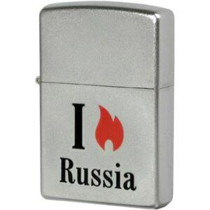 Зажигалка Zippo (зиппо) №205 Flame Russia