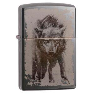 Зажигалка Zippo (зиппо) №49073 Wolf Design
