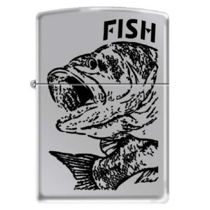 Зажигалка Zippo (зиппо) №250 FISH - BIG MOUTH