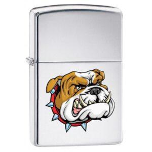 Зажигалка Zippo (зиппо) №250 MEAN DOG Бульдог