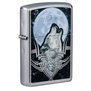 Зажигалка Zippo (зиппо) №49261 Howling Wolf Design
