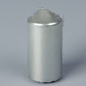 Свеча бочонок, серебряная 45064