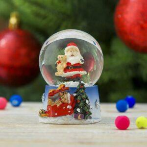 "Снежный шар ""Дед Мороз с мишкой"" 47395"