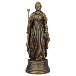 Статуэтка Екатерина 2 малая скульптура 21,5см 48773