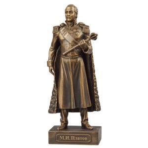 Скульптура М.И. Платов малая 18см 49093