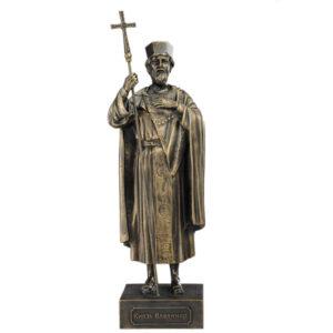 Скульптура Князь Владимир малая 20см 49096