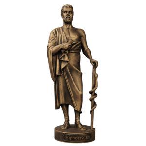 Скульптура Гиппократ малая 18.5 см 49116