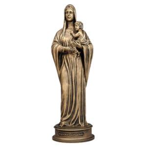 Скульптура Дева Мария с ребёнком малая 50236