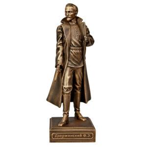Скульптура Дзержинский Ф.Э. малая 20,5 см 52094