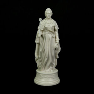 Статуэтка Екатерина 2 малая 20см белый мрамор 52514