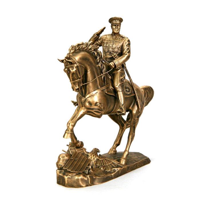 Статуэтка Маршал Жуков на коне малая 55682
