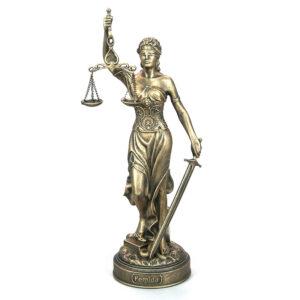 Статуэтка Фемида - богиня правосудия малая new 56794